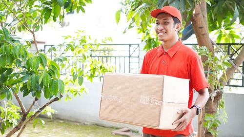 un service de livraison de colis rapide