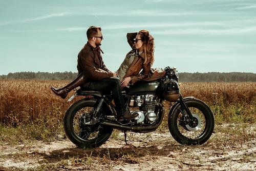 un sellier pour moto
